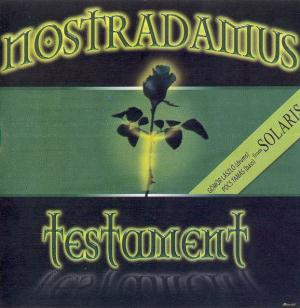 Nostradamus - Testament CD (album) cover