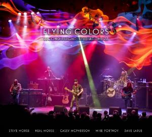 Flying Colors - Second Flight: Live At The Z7 CD (album) cover