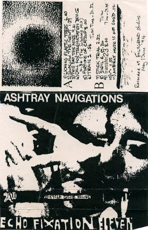 ASHTRAY NAVIGATIONS - Bicycle Glue Blues CD album cover