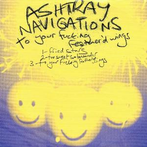 Ashtray Navigations - To Your Fucking Feather'd Wings CD (album) cover