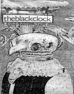Ashtray Navigations - The Black Clock CD (album) cover