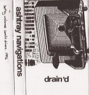 Ashtray Navigations - Drain'd CD (album) cover