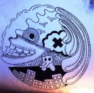 ASHTRAY NAVIGATIONS - Cloud Come Cadaver CD album cover