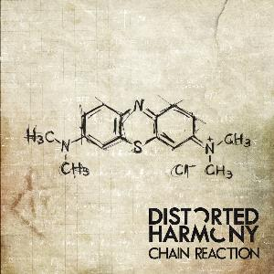 DISTORTED HARMONY - Chain Reaction CD album cover