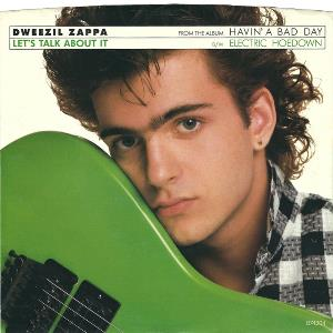 DWEEZIL ZAPPA - Let's Talk About It CD album cover