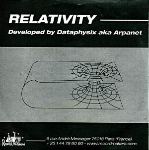 Arpanet - Relativity CD (album) cover