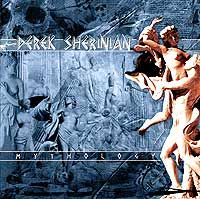 Derek Sherinian - Mythology CD (album) cover