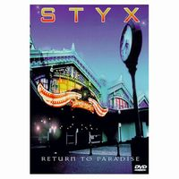 Styx - Return To Paradise - Live At Rosemont Theatre 1996 DVD (album) cover