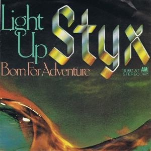 STYX - Light Up CD album cover