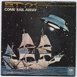 Styx - Come Sail Away CD (album) cover