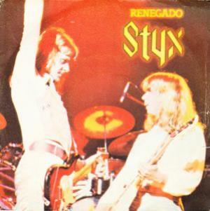 Styx - Renegado (renegade) CD (album) cover
