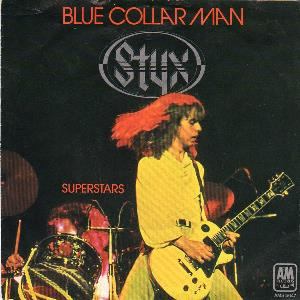Styx - Blue Collar Man CD (album) cover