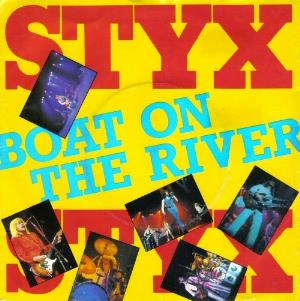 Styx - Boat On The River CD (album) cover