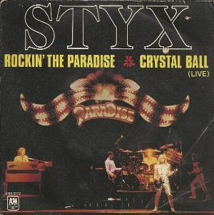 STYX - Rockin' The Paradise CD album cover