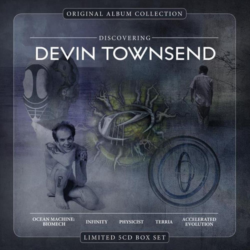 Devin Townsend - Discovering Devin Townsend CD (album) cover