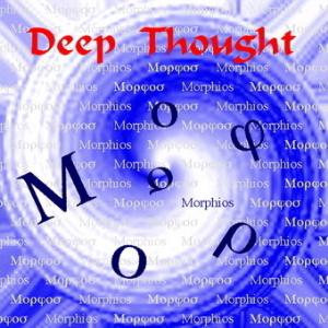 Deep Thought - Morphios CD (album) cover