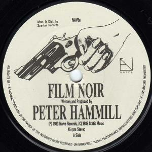 Peter Hammill - Film Noir CD (album) cover
