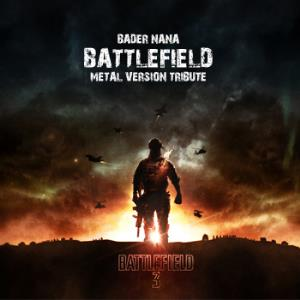 BADER NANA - Battlefield Metal Version Tribute CD album cover