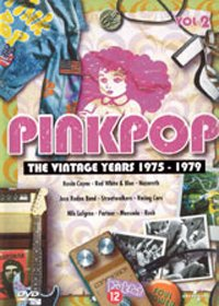Various Artists - Pinkpop - The Vintage Years 1975-1979 DVD (album) cover