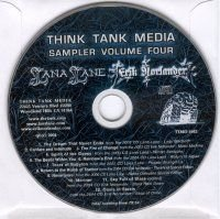 Various Artists - Think Tank Media Sampler Volume Four CD (album) cover