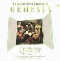 Various Artists - Classic Rock Tribute To Genesis CD (album) cover