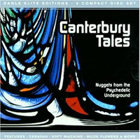 Various Artists - Canterbury Tales CD (album) cover