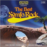 Various Artists - The Best Symfo Rock CD (album) cover