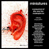 Various Artists - Miniatures (edited By Morgan Fisher) CD (album) cover