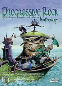 Various Artists - Progressive Rock Anthology DVD (album) cover
