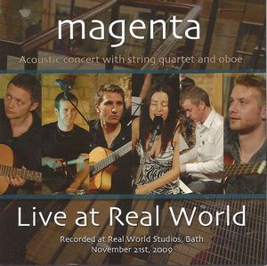 Magenta - Live At Real World CD (album) cover