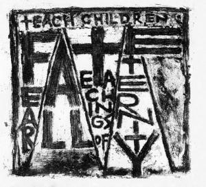 The Antarcticans - Teach Children: Fear All Teachings Of Eternity, The Doom Of Self And Nature CD (album) cover