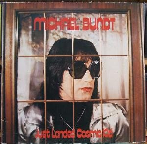 Michael Bundt - Just Landed Cosmic Kid CD (album) cover