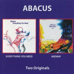 Abacus - Everything You Need & Midway CD (album) cover