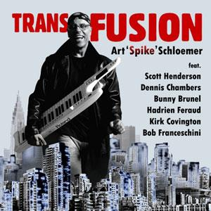 Art Spike Schloemer - Transfusion CD (album) cover