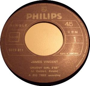 James Vincent - Groovy Girl CD (album) cover