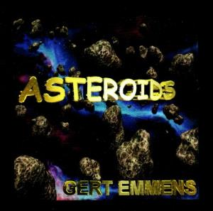 Gert Emmens - Asteroids CD (album) cover