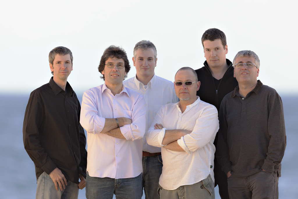 FRANC ALBIR image groupe band picture