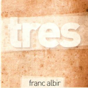 Franc Albir - Tres CD (album) cover