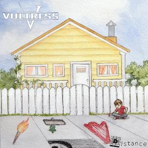 Vultress - Distance CD (album) cover