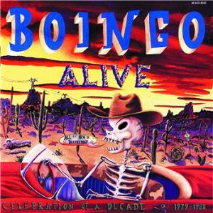 Oingo Boingo - Boingo Alive CD (album) cover