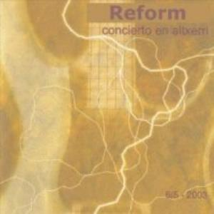 Reform - Concierto En Altxerri CD (album) cover