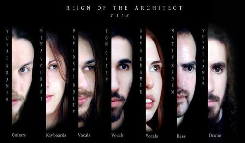REIGN OF THE ARCHITECT image groupe band picture