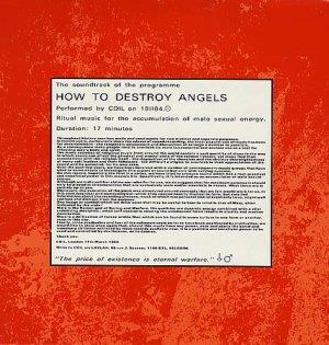 Coil - How To Destroy Angels CD (album) cover