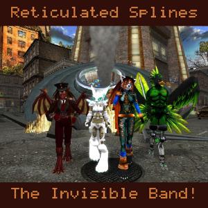 The Invisible Band! - Reticulated Splines CD (album) cover