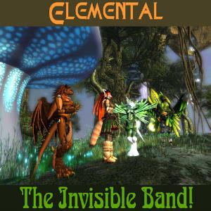 The Invisible Band! - Elemental CD (album) cover