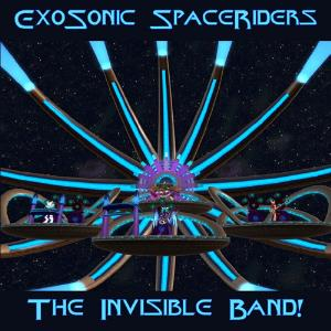 The Invisible Band! - Exosonic Spaceriders CD (album) cover