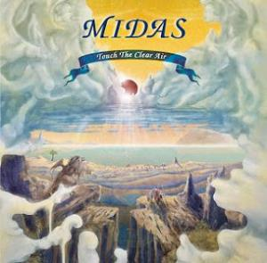 Midas - Touch The Clear Air CD (album) cover