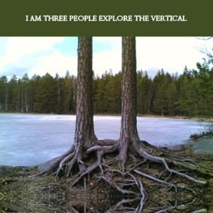 I Am Three People - Explore The Vertical CD (album) cover