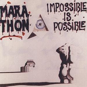 Marathon - Impossible Is Possible CD (album) cover