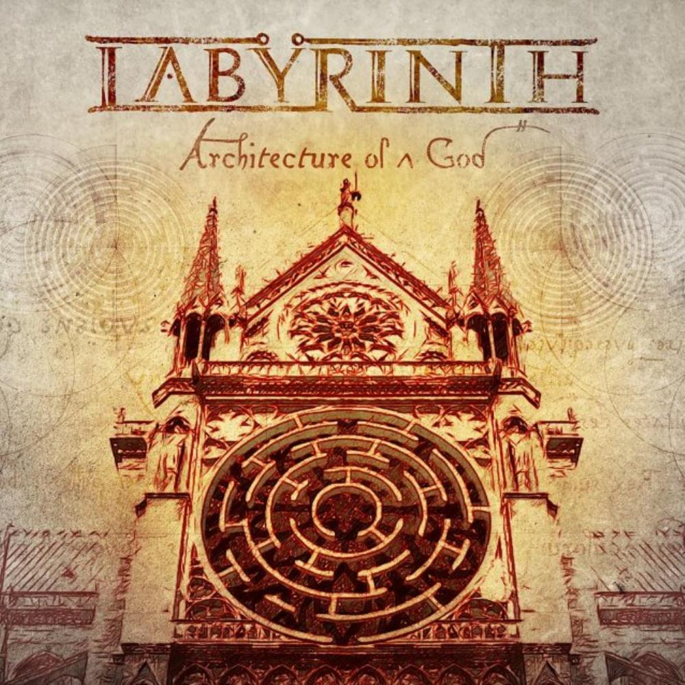 LABYRINTH - Architecture Of A God CD album cover